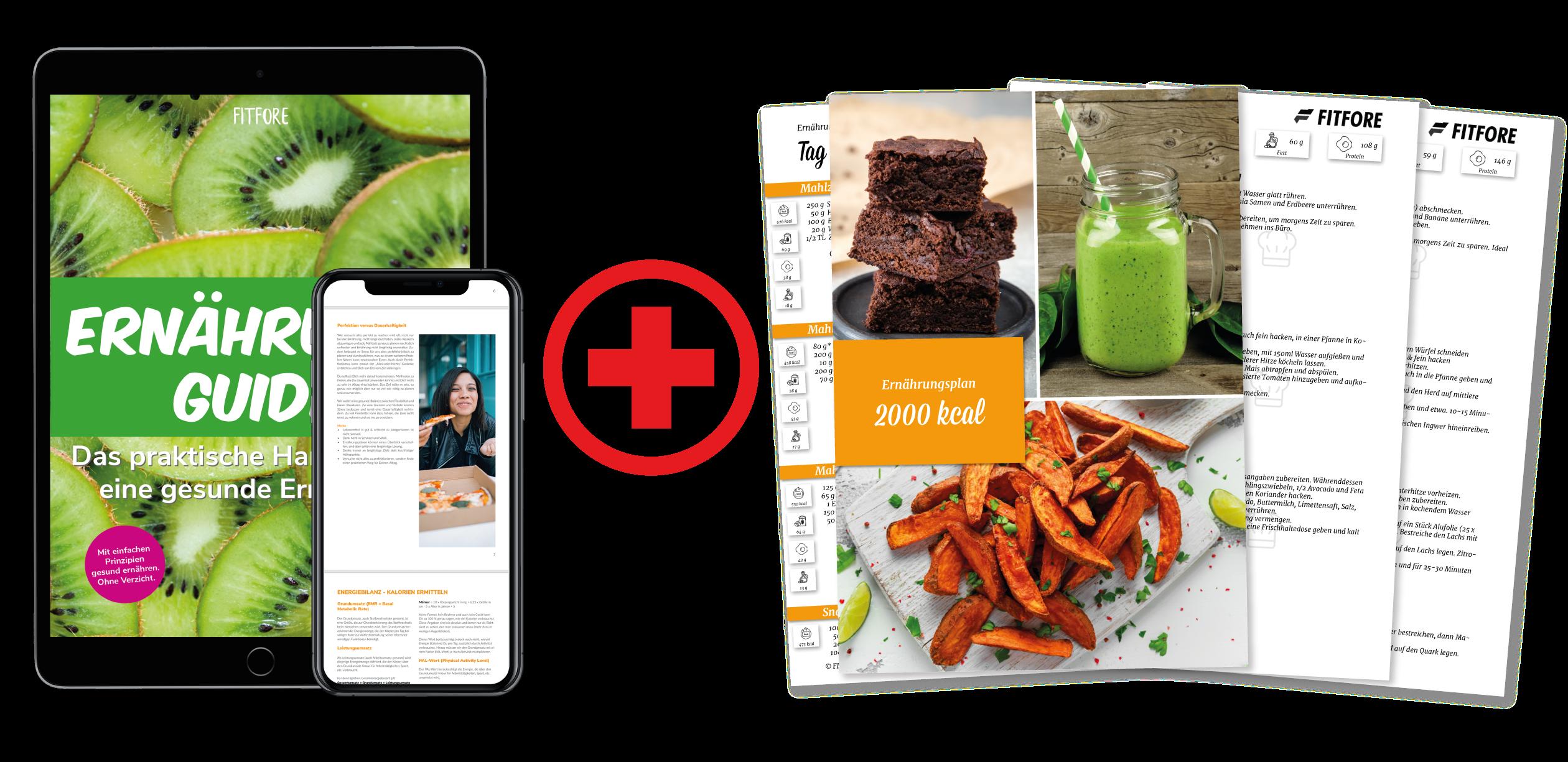 Ernährungsguide eBook + Ernährungspläne