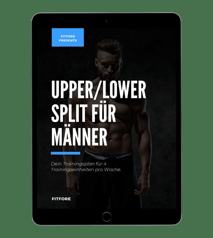 Upper/Lower Trainingsplan