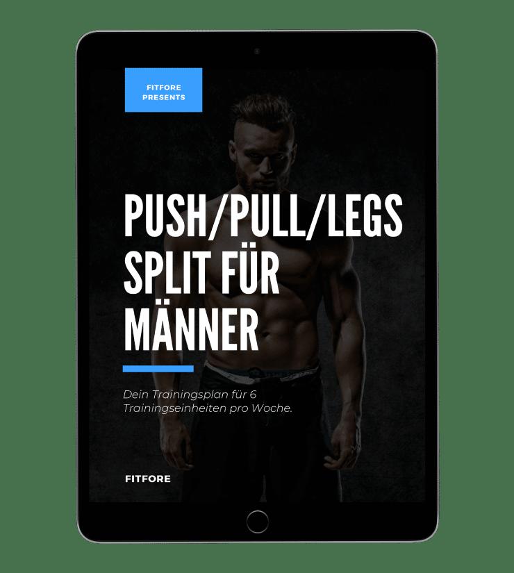 Push/Pull/Legs Trainingsplan für Männer